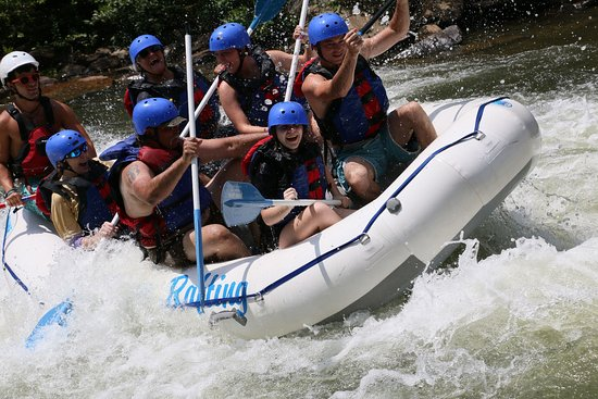 Ocoee, TN: Great fun whitewater rafting