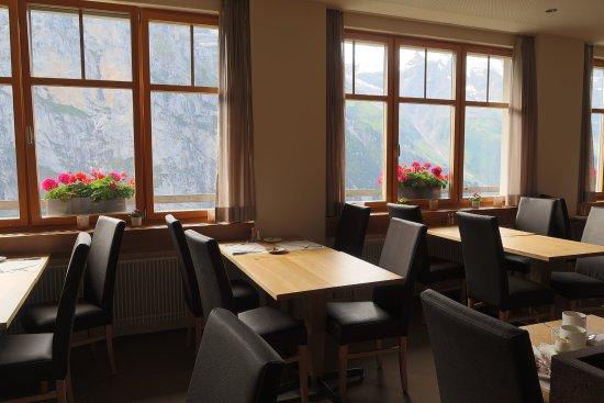 Hotel Edelweiss: 食堂