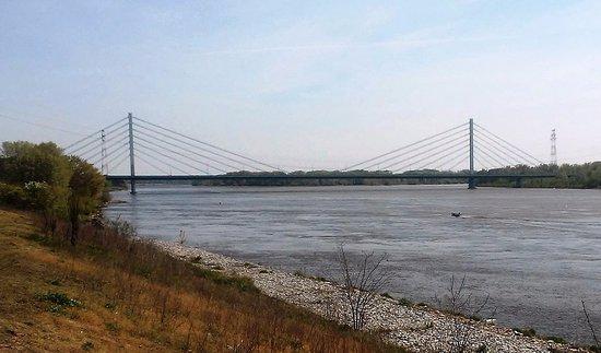 Plock, Polen: Przęsło o 375 metrach rozpiętości robi na wszystkich wrażenie!