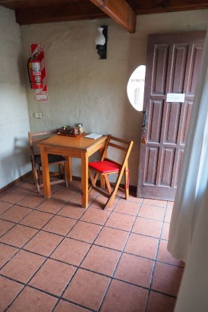 de Luna: Zona de estar Apartamento Turístico con kitchenette.