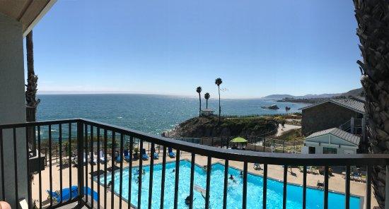 Shore Cliff Hotel: VEIW FROM ROOM