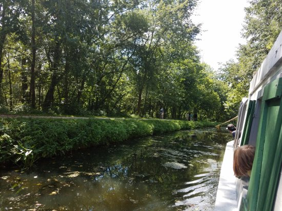 Canal Fulton, Огайо: View from the boat pulled by the horses