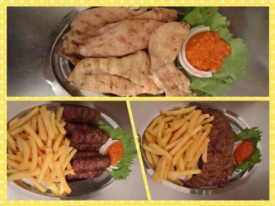 Vinisce, Croácia: Grilled meat