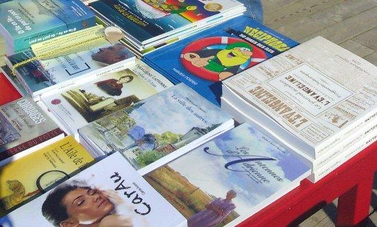 Ile du Cap aux Meules, Kanada: Des livres et des livres