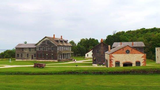 Garden, ميتشجان: Fayette Historic State Park