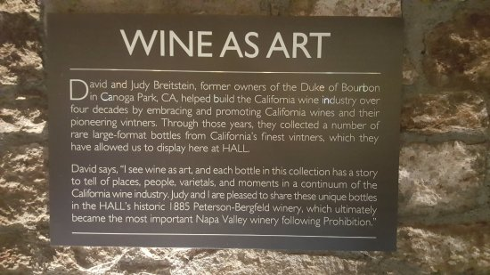 St. Helena, CA: Wine As Art