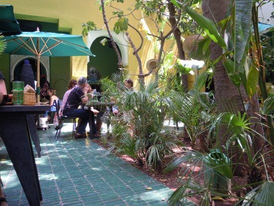 Vasos obr zek za zen le jardin region marr ke for Le jardin 32 route sidi abdelaziz marrakech 40000