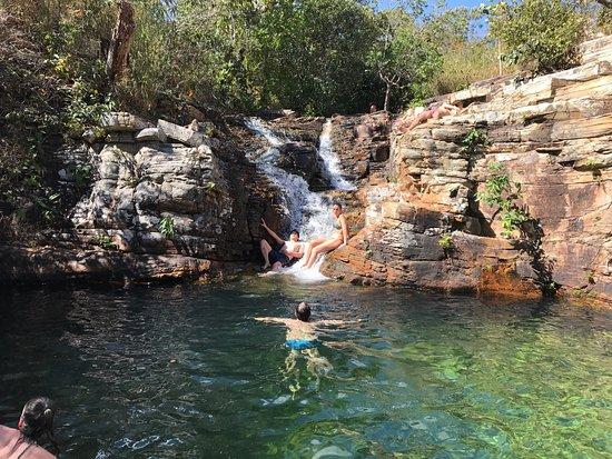 Resultado de imagem para cachoeira paraíso pirenopolis