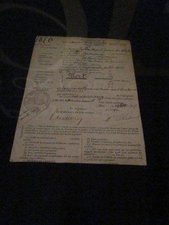 Leeuwarden, The Netherlands: originele veroordeling Mata Hari