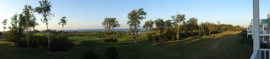 Wallace, Canada: Golf course from balcony