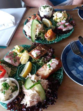 Karrebæksminde, Danmark: Fisketallerken