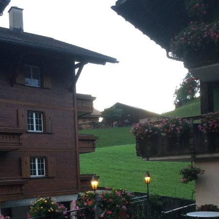 Hotel Gletschergarten: View from terrace.