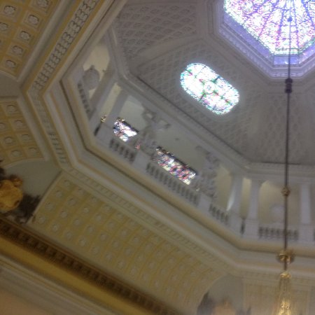On of the amazing ceilings