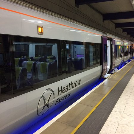 how to get to london heathrow by train