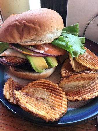 Palmer, Пуэрто-Рико: El Yunque Burger was delicious!
