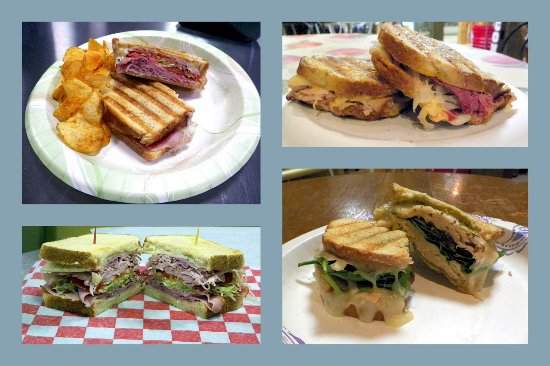 Burnsville, Carolina del Norte: Delicious thick sandwiches-all natural meats & cheeses!