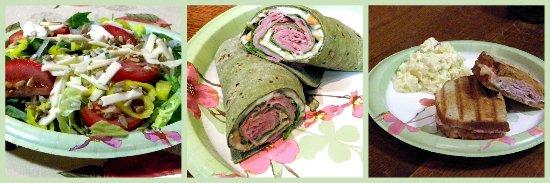 Burnsville, NC: Tasty Salads, Wraps & Paninis