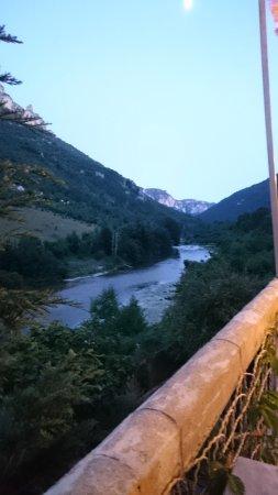 Les Vignes, France: vue de la terrasse