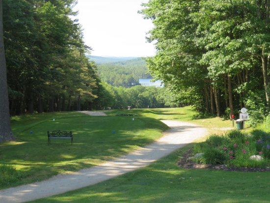 Poland Springs, Μέιν: Golf course view
