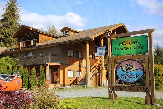 Bella Coola, Canadá: Our lodge