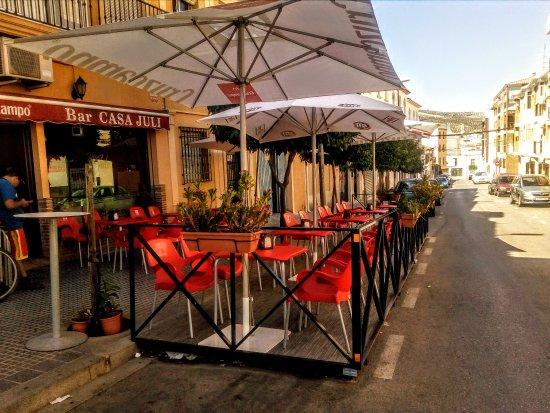 Baena, Spain: BAR CASA JULI