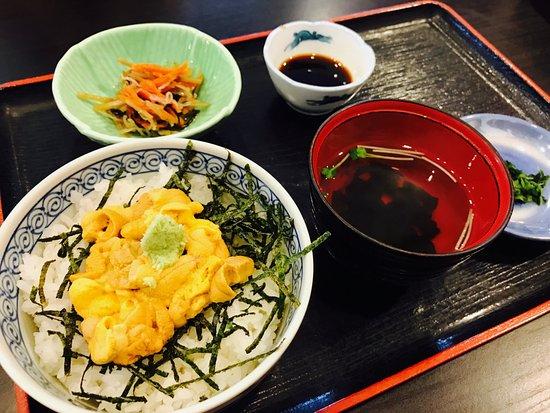 Iki, Japan: ウニ丼!