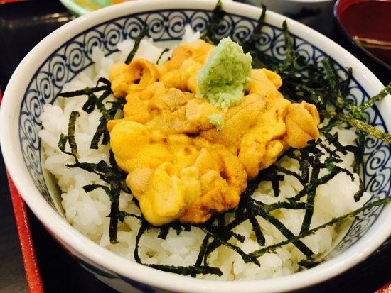 Iki, Japan: ウニ丼!40グラム!