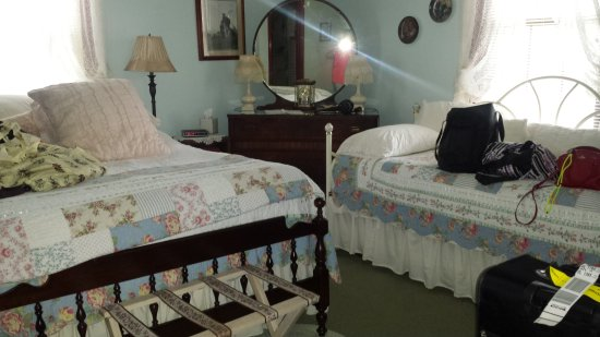Green Cove Springs, FL: We stayed in the Blue Room.