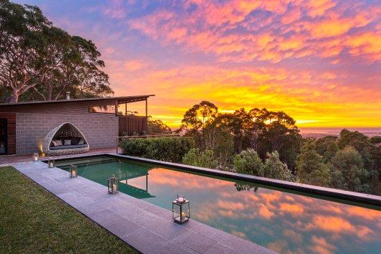 Bowen Mountain, أستراليا: Outdoor pool at Spicers Sangoma Retreat 