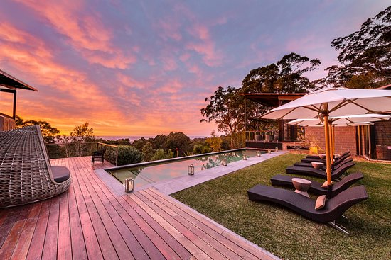 Outdoor pool at Spicers Sangoma Retreat