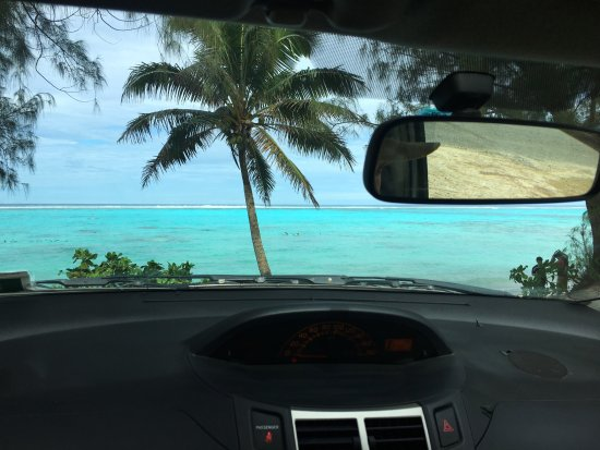 Arorangi, Cook Islands: Raro Traffic