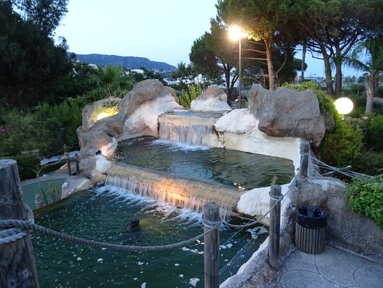 Mini golf exotique du lavandou le lavandou frankrike omd men - Le grand jardin le lavandou ...