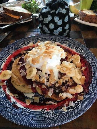 Marrickville, Australia: vegan chia pancakes