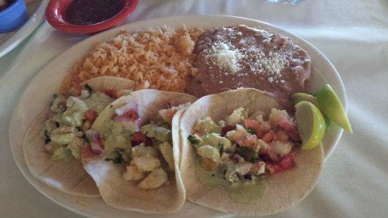 Anejo Cantina and Grill: Taco Trio (Shrimp tacos)