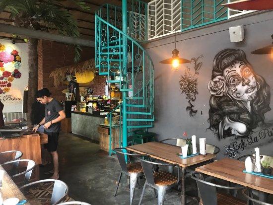 Menu Cafe La Pasion Bali