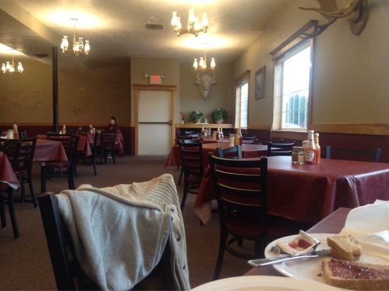 White Buffalo Hotel: La sala colazioni