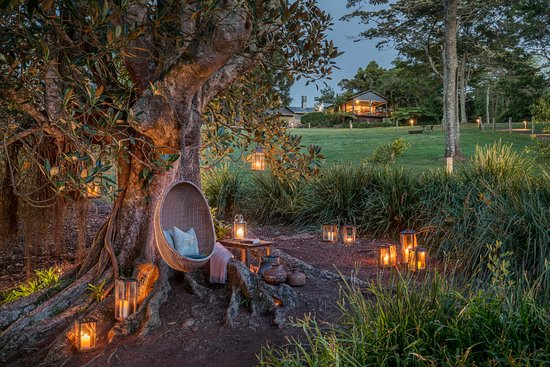 Spicers Tamarind Retreat: Spicers Tamarind by sunset
