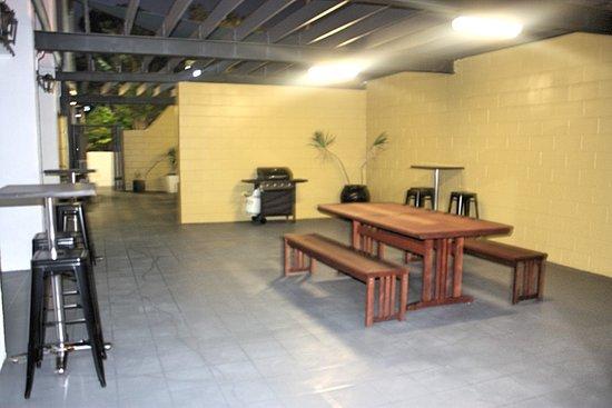 แกลดสโตน, ออสเตรเลีย: BBQ and group areas