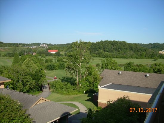 Kingsport, TN: View from the balcony