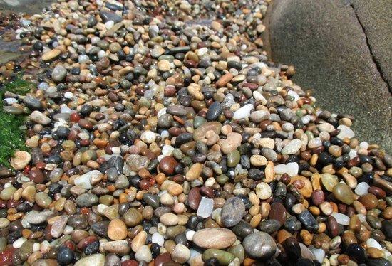 Pescadero, كاليفورنيا: Please don't take the pebbles; just enjoy!