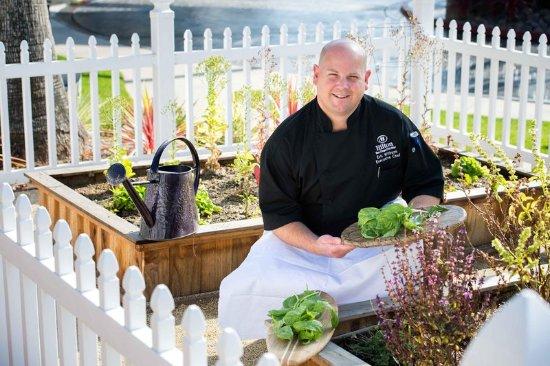 Del Mar, CA: Chef Eric's Herb Garden
