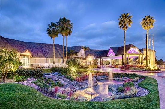 Del Mar, CA: Hotel Entrance