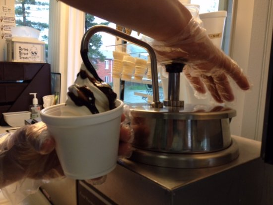 Oxford, OH: Try our delicious hot fudge