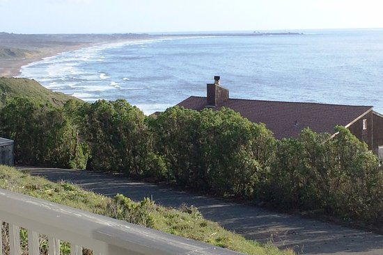 Blufftop view from Irish Beach south to Point Arena
