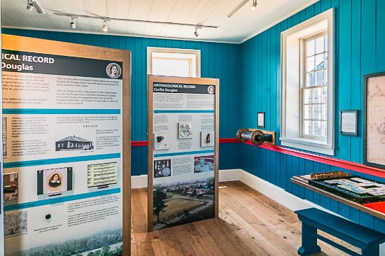 Fort Vancouver National Historic Site: Educational displays inside the counting house