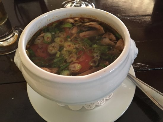 Morgans Seafood Restaurant The Tom Yum Good Soup