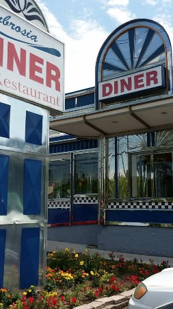 Ambrosia Diner: fantastic decor!