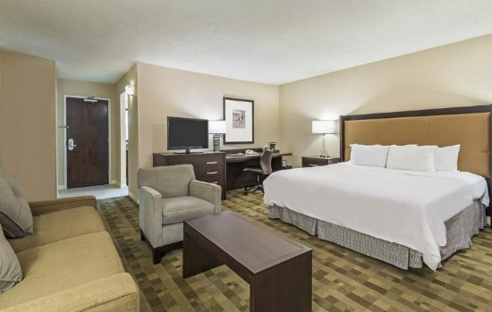 Hilton St. Louis at the Ballpark: West Tower Corner King Room