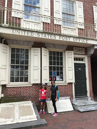 B Free Franklin Post Office Museum Philadelphia Pa