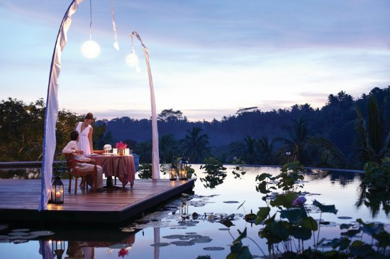 Four Seasons Resort Bali at Sayan : Romantic Dinner